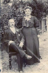 Kate Howard and her husband George Cole